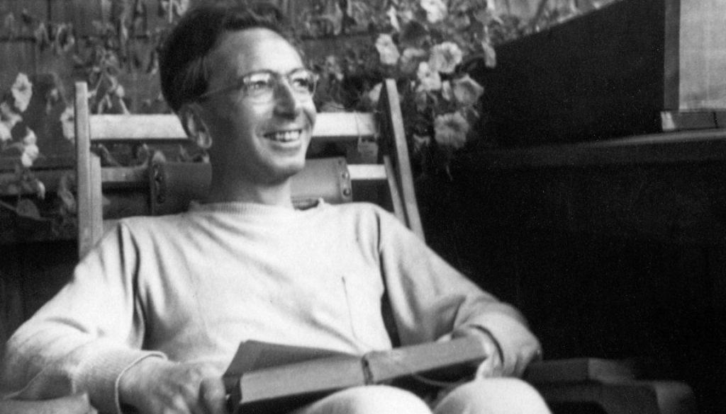 Portrait of Austrian psychologist Viktor Frankl. Photograph. 1947.
